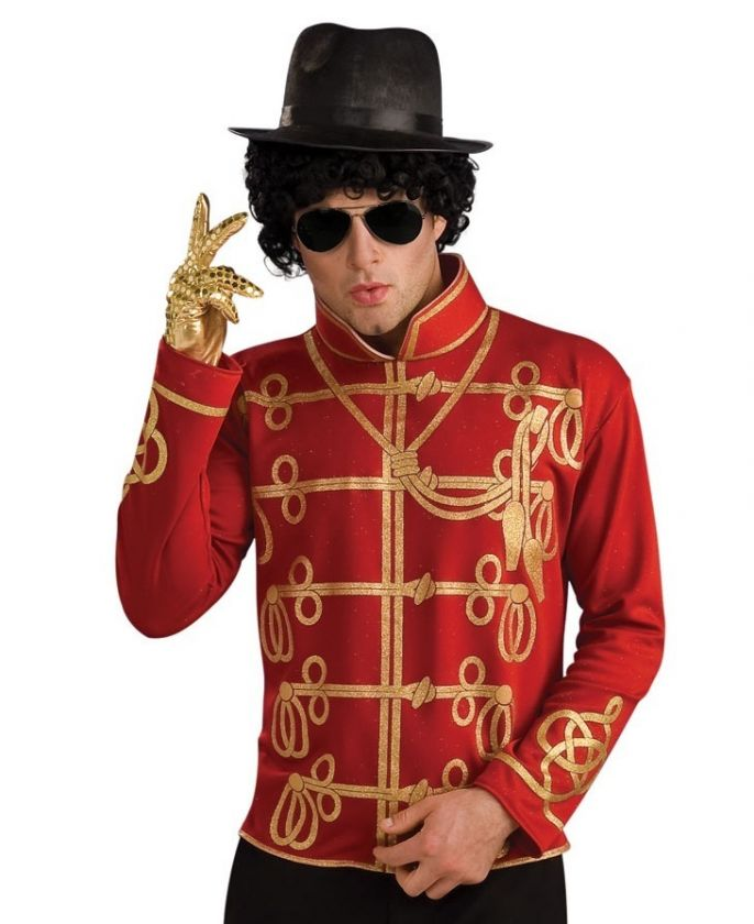 MICHAEL JACKSON MILITARY JACKET HALLOWEEN COSTUME MED
